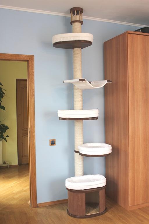 Угловой игровой комплекс для кошек