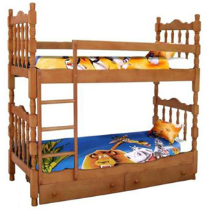 Детские и подростковые кровати из массива сосны