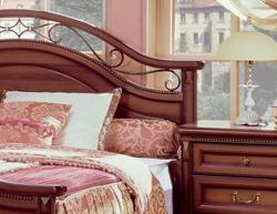 Спальня джоконда миасс мебель орех с